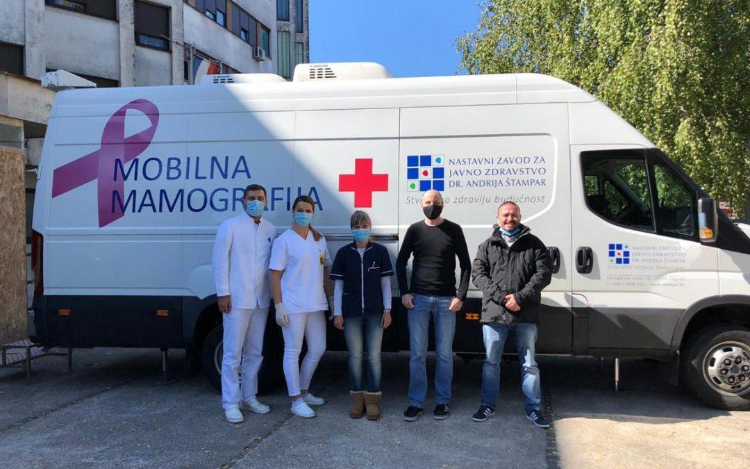 Mobilna mamografija u Ogulinu od 21.-23.09.2021.